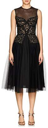 Sophia Kah Women's Lace & Tulle Cocktail Dress