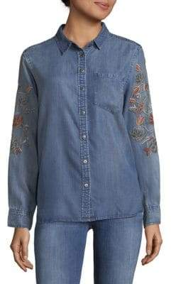 Saks Fifth Avenue Cameron Denim Button-Down Shirt