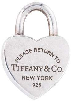 Tiffany & Co. & Co. Return To Heart Tag Lock Charm