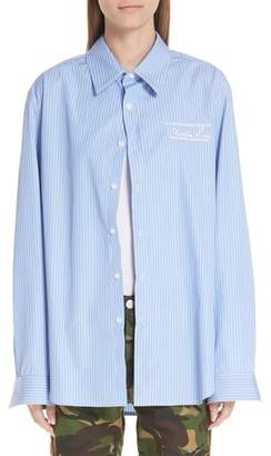 Martine Rose Classic Stripe Shirt