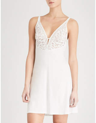 Wacoal Eternal lace and jersey chemise