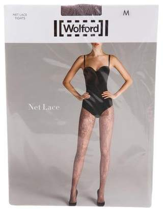 Wolford Net Lace Tights w/ Tags