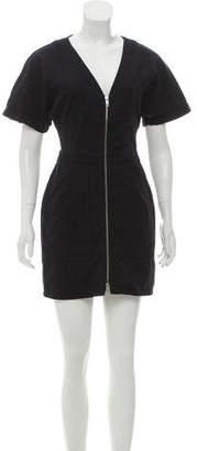 A.L.C. Zip-Up Mini Dress
