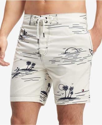 "Tommy Hilfiger Men's Castaway 6.5"" Board Shorts"
