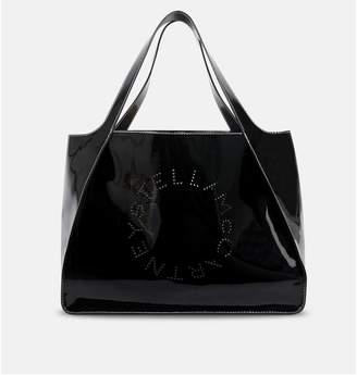 Stella McCartney Tote Bag Patent Black