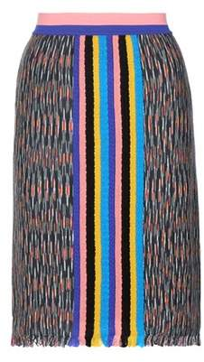 Missoni Knitted wool-blend skirt