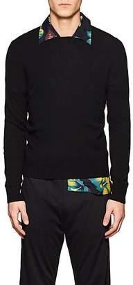 Prada Men's Stockinette-Stitched Cashmere Sweater