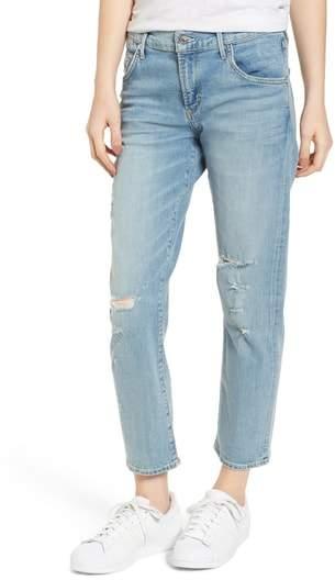 AGOLDE Isabel Ankle Slim Boyfriend Jeans