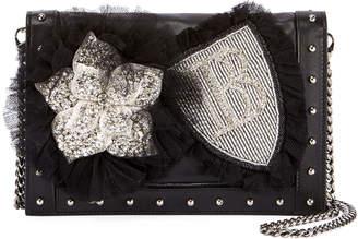 Balmain Box 20 Badge Crossbody Bag