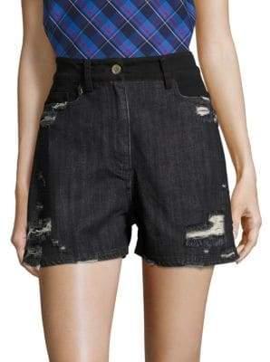Public School Thana Distressed Shorts