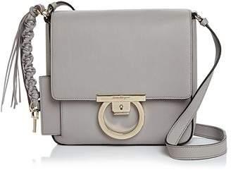 Salvatore Ferragamo Lock Medium Leather Shoulder Bag