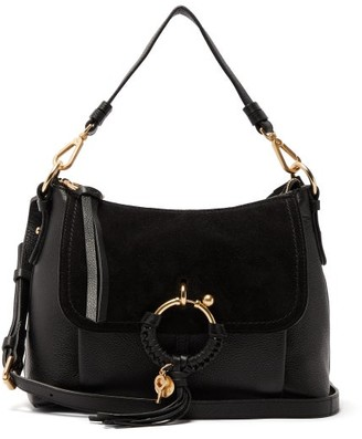 See by Chloe Joan Small Leather Cross Body Bag - Womens - Black