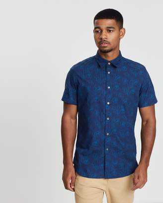 Paul Smith Short Sleeve Tailored Fit Shirt