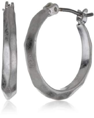 Kenneth Cole New York Tone Hoop Earrings
