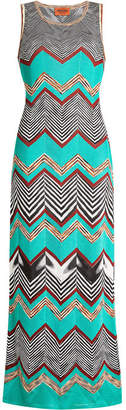 Missoni Knit Maxi Dress with Cotton