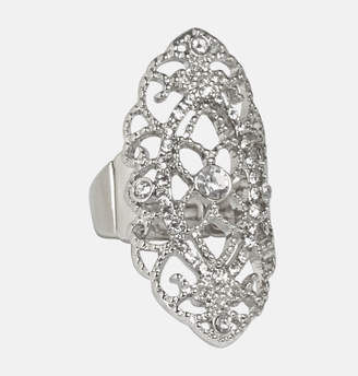 Avenue Diamond Filigree Stretch Ring