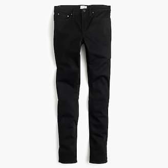 "J.Crew Petite 8"" toothpick jean in true black"