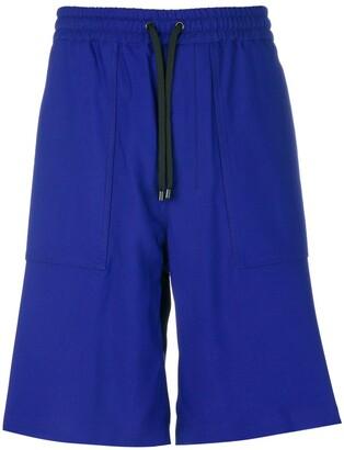 Ami Paris elasticated waist Bermuda short