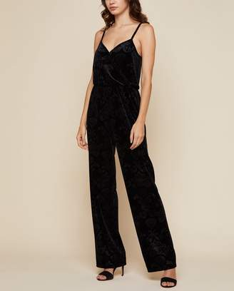Juicy Couture Brocade Velvet Jumpsuit