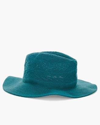 Chico's Chicos Teal Knit Hat