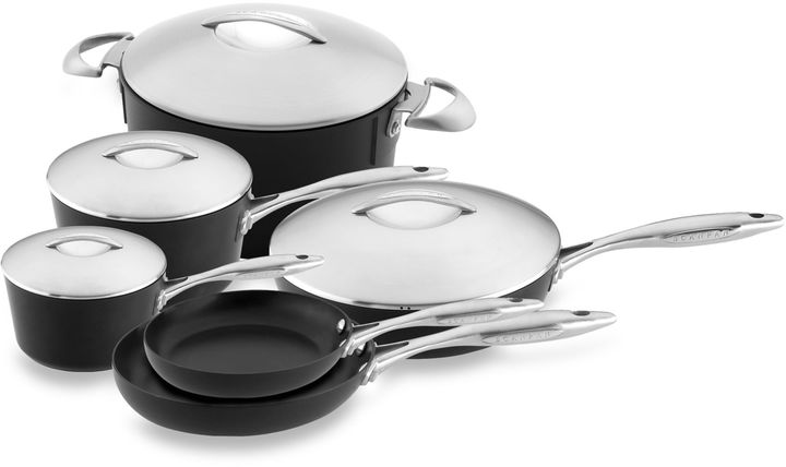 Scanpan Professional Nonstick 11-Piece Cookware Set and Open Stock