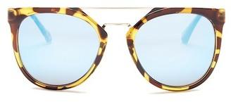 Diane von Furstenberg Women's Cat Eye Sunglasses $39.97 thestylecure.com