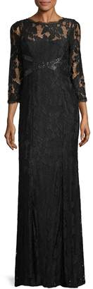 Adrianna Papell Women's Lace Gown