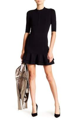 Veronica Beard Aubrey Tiered Bodycon Dress