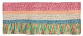 Missoni Striped Lurex Waist Belt - Womens - Pink