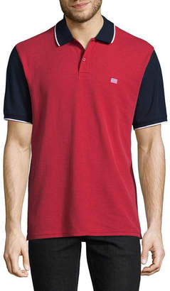 ST. JOHN'S BAY Short Sleeve Pique Polo Shirt Slim