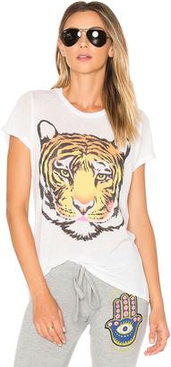 Lauren Moshi Edda Wild Tiger Tee $96 thestylecure.com