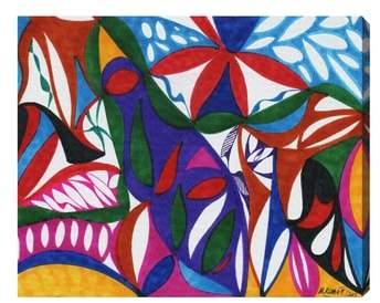 Rhapsodic Canvas Wall Art