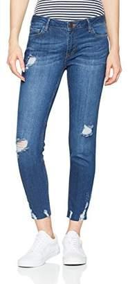 Cross Women's Gigi Skinny Jeans, (Blue Destroyed 005)