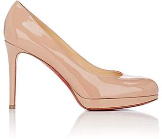 "Christian Louboutin Women's ""New Simple"" Patent Leather Pumps"