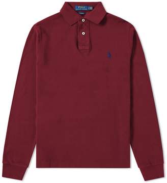 Polo Ralph Lauren Long Sleeve Slim Fit Polo