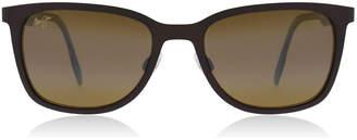 Naupaka Sunglasses Satin Chocolate 01M Polariserade 53mm