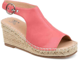 Journee Collection Crew Espadrille Wedge Sandal - Women's