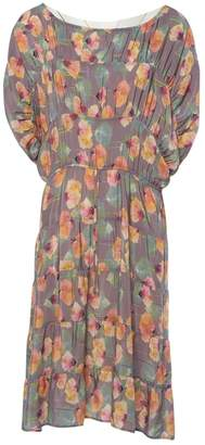 Tucker Multicolour Silk Dresses