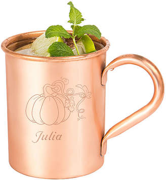 Cathy's Concepts CATHYS CONCEPTS Personalized Harvest Pumpkin Moscow Mule Copper Mug