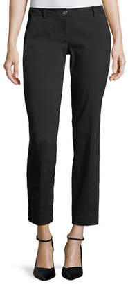 MICHAEL Michael Kors Miranda Slim-Leg Cropped Pants