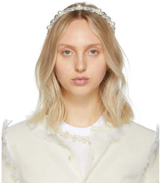 Simone Rocha Transparent Daisy Hairband