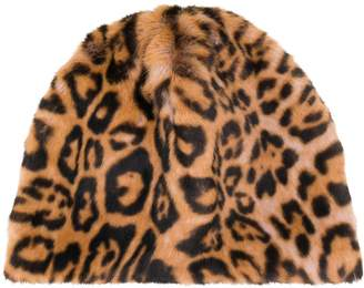 Bellerose leopard print beanie