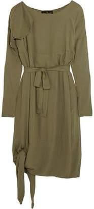 Vivienne Westwood Balloon Frayed Crepe Dress