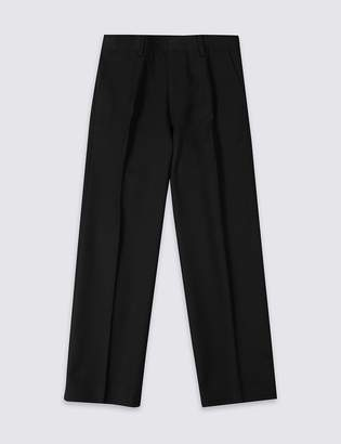 Marks and Spencer Boys' Plus Fit Regular Leg Trousers