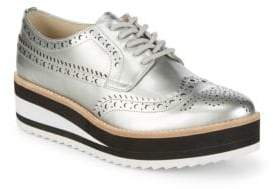 Kenneth Cole Ravi Oxford Brogue Wedge Oxford