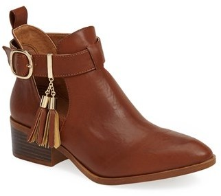 BC Footwear 'Dress Up' Ankle Bootie (Women)