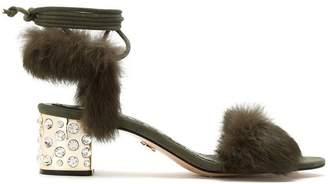 Andrea Bogosian lace up sandals