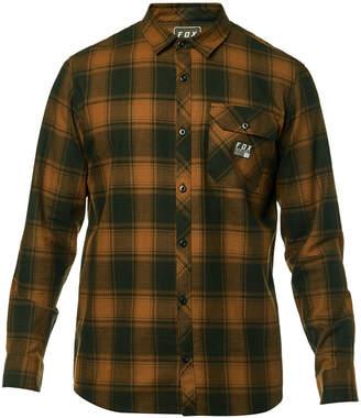 Fox Men's Voyd Yarn-Dyed Plaid Brushed Twill Flannel Shirt