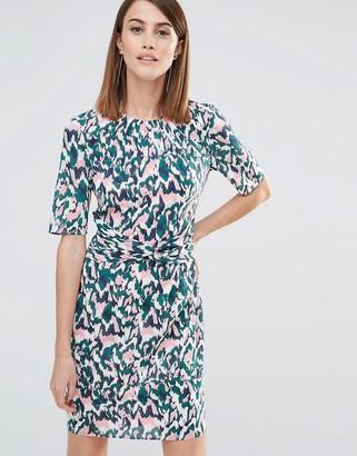 Whistles Bodycon Dress in Marble Print $258 thestylecure.com