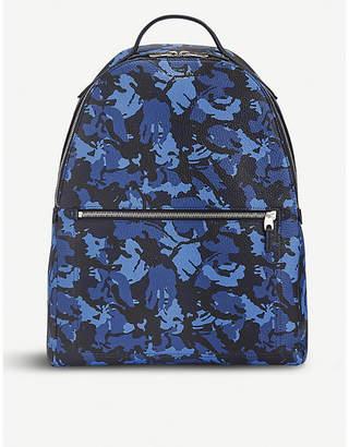 Smythson Burlington small leather backpack